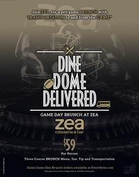 ZEA Dine Dome Delivered