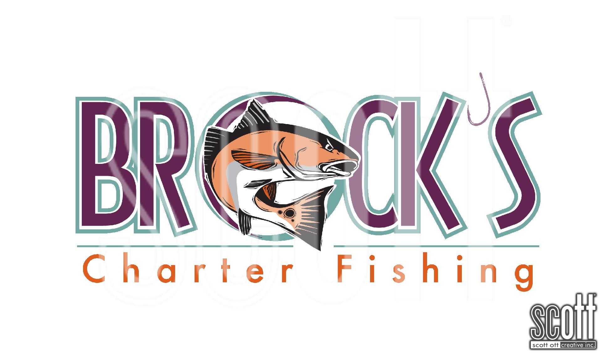 Brock's Charter Fishing BROCK COLOR