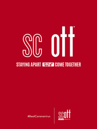 Staying Apart WE Come Together