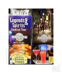 Legends & Spirits Cocktail Tour Brochure