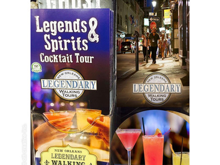 Legends & Spirits Cocktail Tour