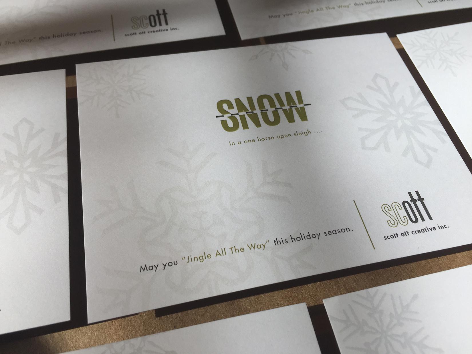 scott ott creative inc. SNOW