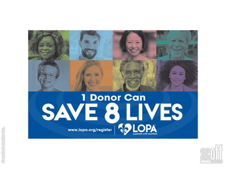 SAVE 8 LIVES