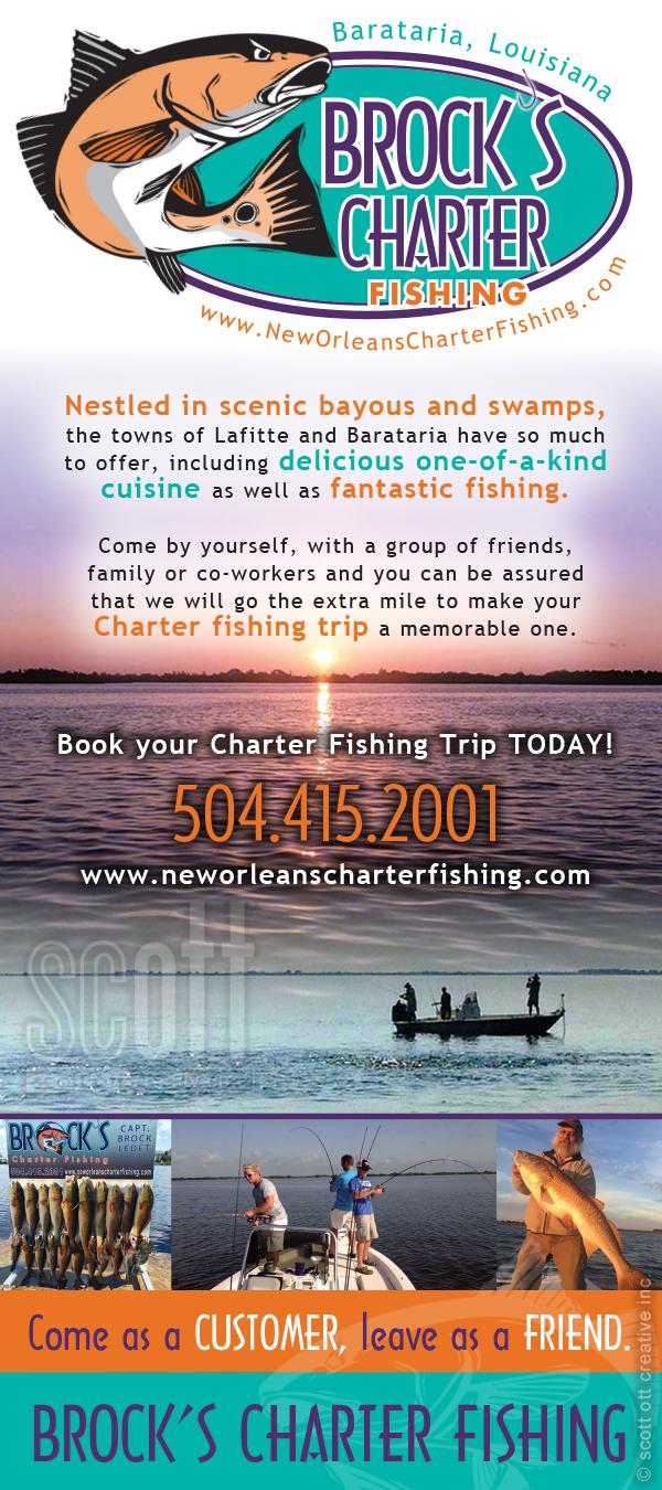 Brocks Charter Fishing RACKCARD SCOTT OTT 1