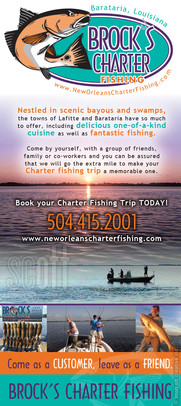 Brock's Charter Fishing Brochure 2