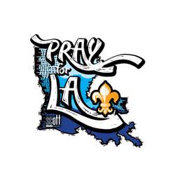 Pray For LA Logo