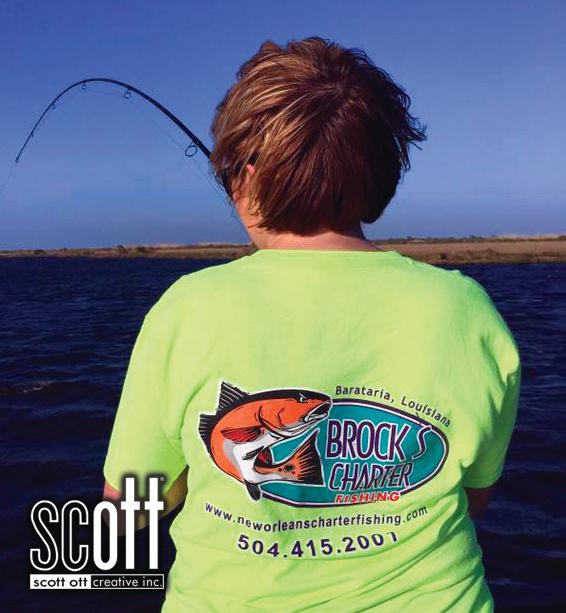 Brocks SHIRT Charter Fishing