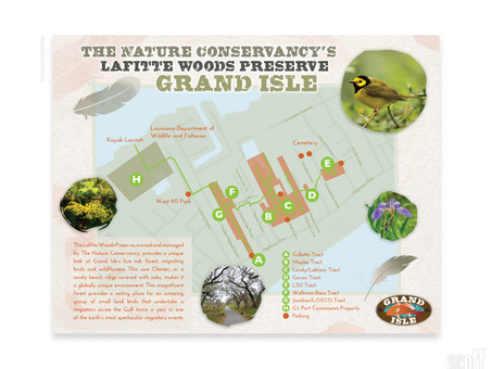 Lafitte Woods Nature Preserve and Trail