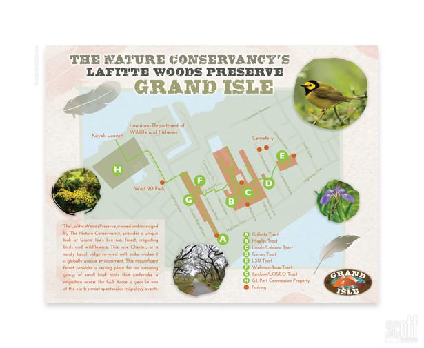 Lafitte Woods Nature Preserve  - MAP