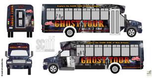 Cajun Encounters GHOST TOUR BUS