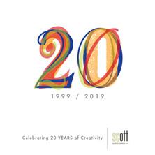 20th anniversary logo