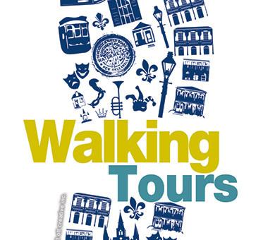Walking Tours Logo & Branding