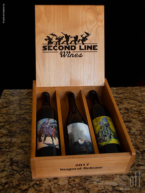 Second Line Wines PACKAGING