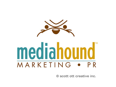 media hound new orleans - logo and icon