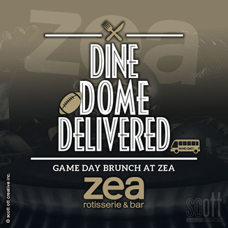 ZEA Dine Dome Delivered