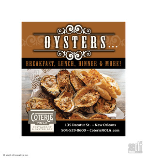 OYSTERS - Coterie, NOLA