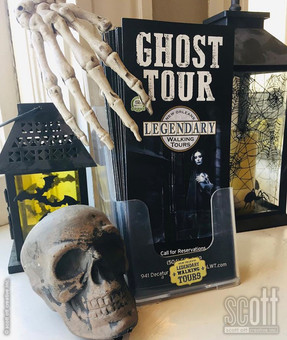 Ghost Tour Brochure - scott ott creative