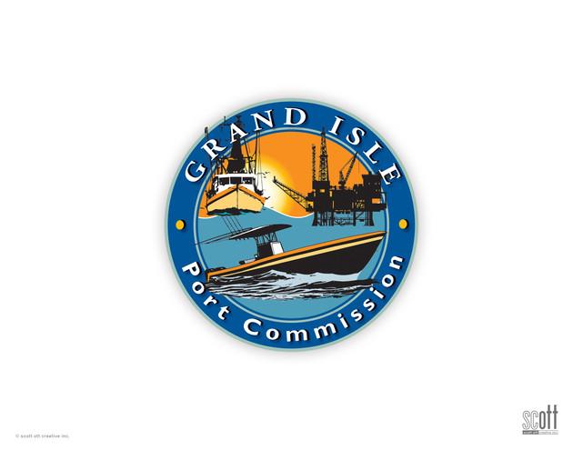 Grand Isle Port Commission LOGO