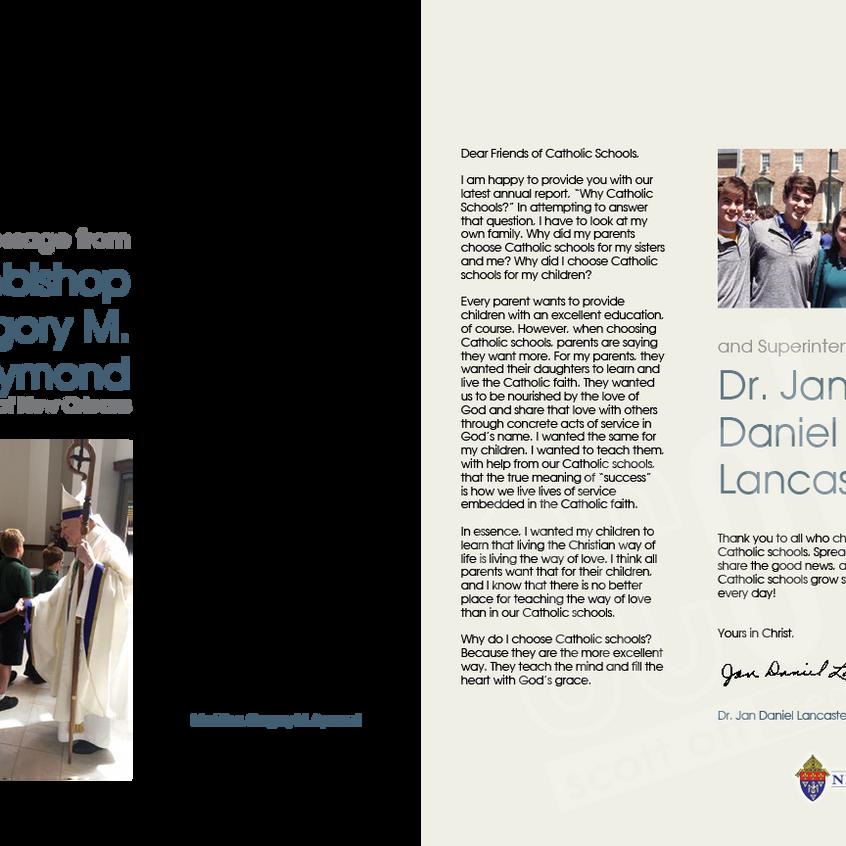 office of catholic schools annual report 2015 - scott ott creative inc-3