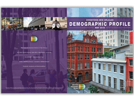 Downtown Development District of New Orleans (DDD) Demographics Profile Book
