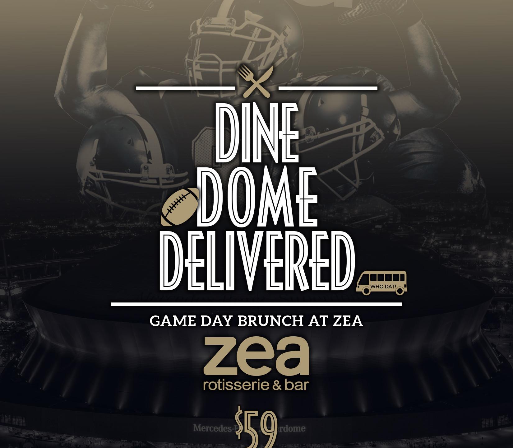 ZEA Dine Dome Delivered - scott ott crea