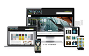 Dependable Glass Works Website