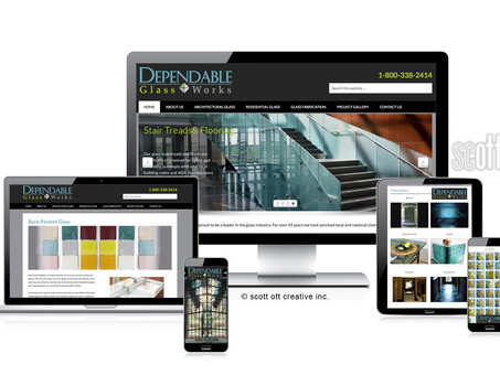 Dependable Glass Works NEW website launch