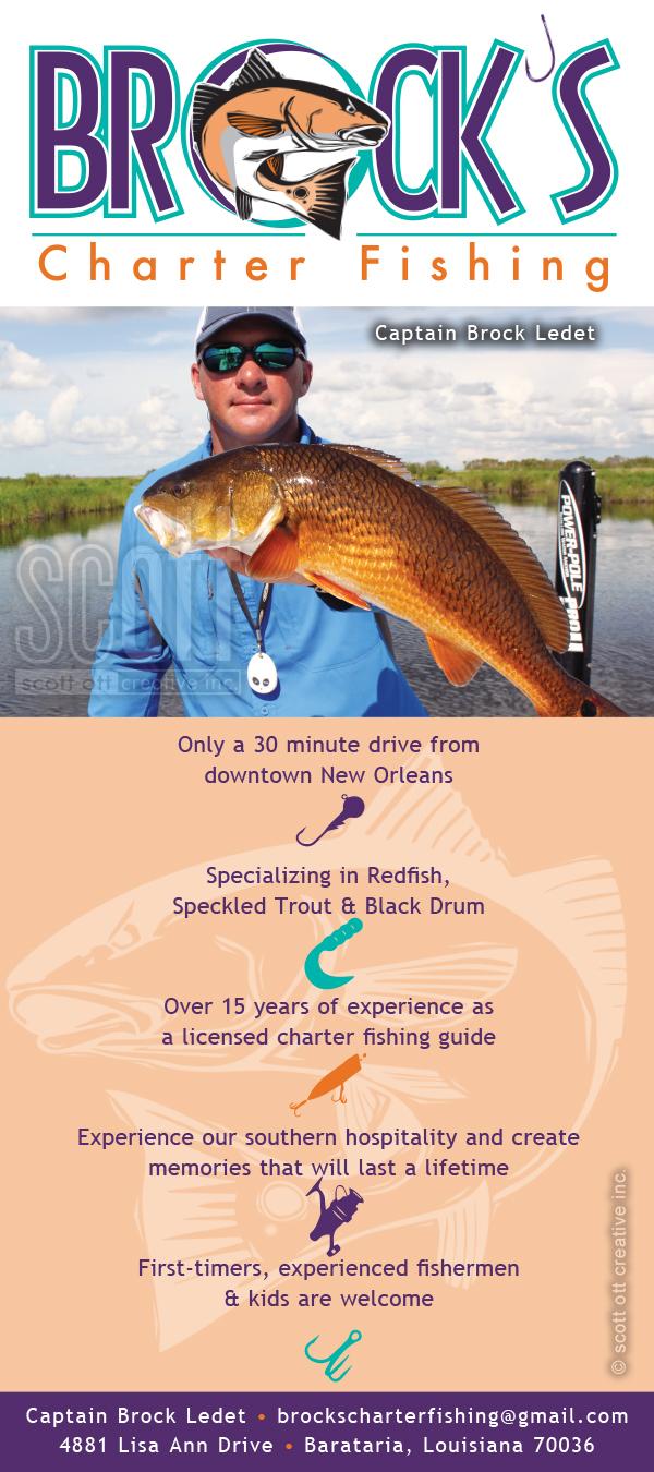 Brocks Charter Fishing RACKCARD SCOTT OTT 2