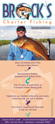 Brock's Charter Fishing Brochure 1