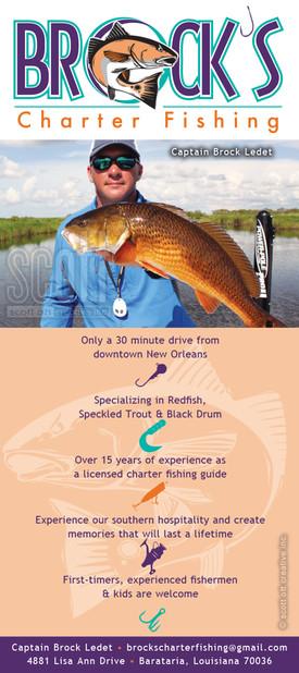 Brock's Charter Fishing Brochure 1