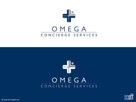 omega concierge services LOGO development and rebranding