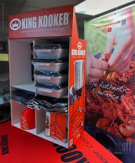 king kooker® POP display