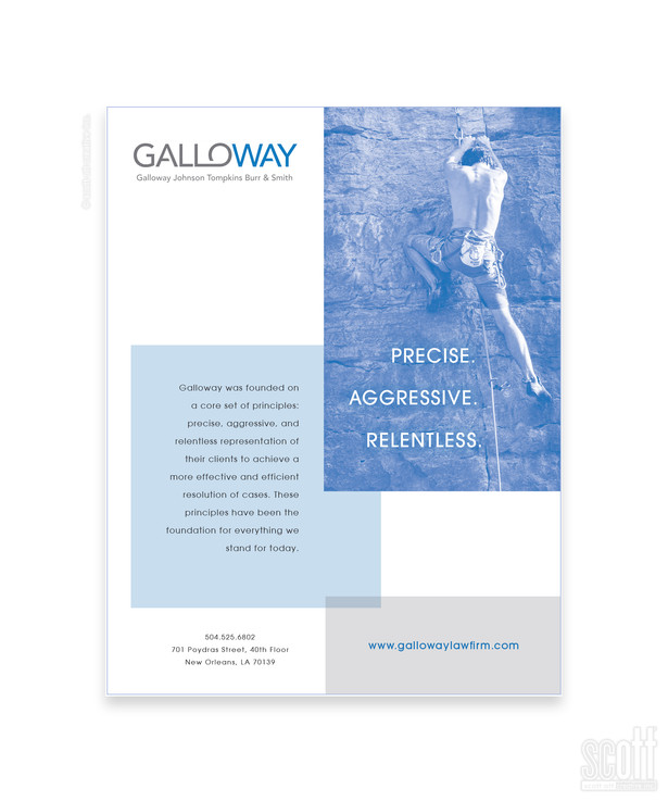 Galloway Law Firm ad campaign