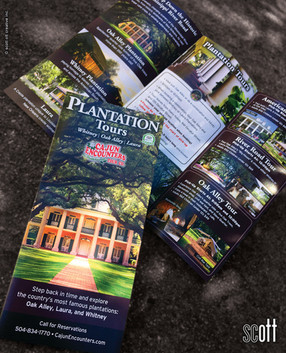 Cajun Encounters PLANTATION cover - scott ott creative inc.