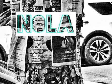 NOLA poster design