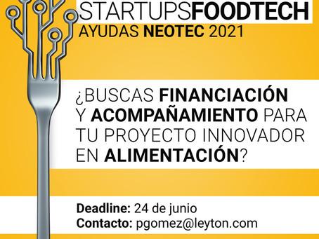 Financiación y mentorización, necesarias para el impulso de las startups foodtech