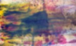 Baptism of Colors II 80x110 Ink sand wat