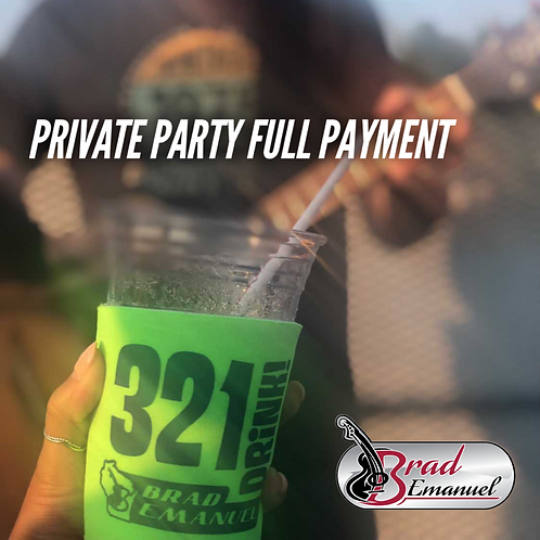 Private Party Full Payment