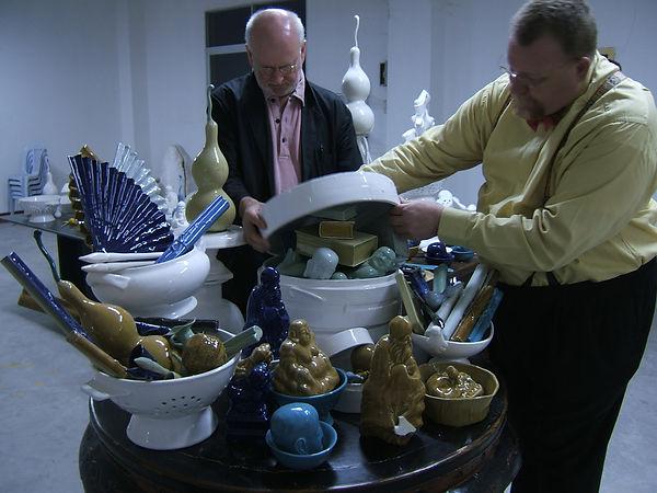 Stevens and Siggi buffet.JPG