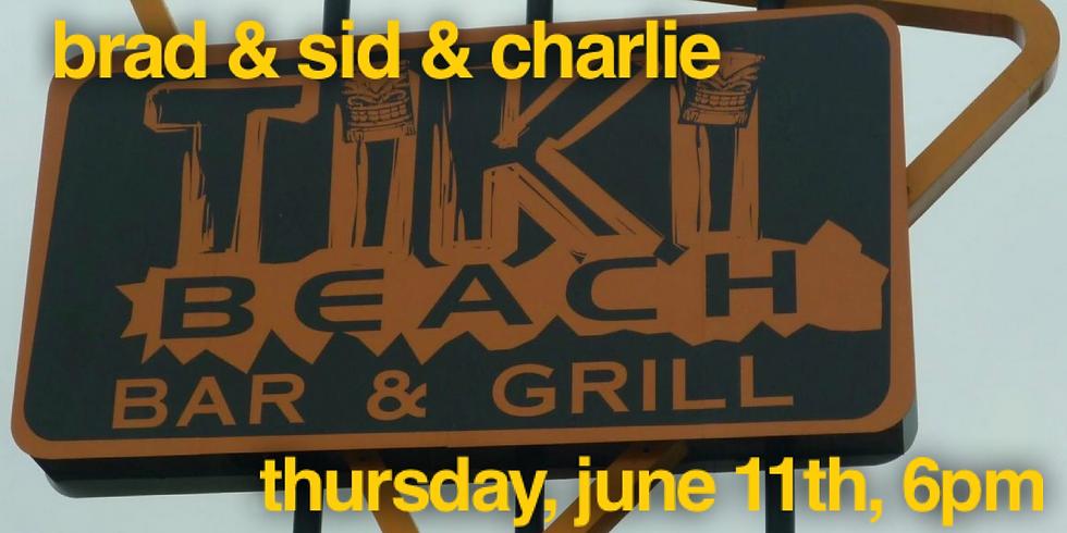 The Tiki Beach with Sid & Charlie!