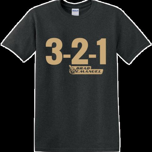 321 Tee - Tweed & Tan