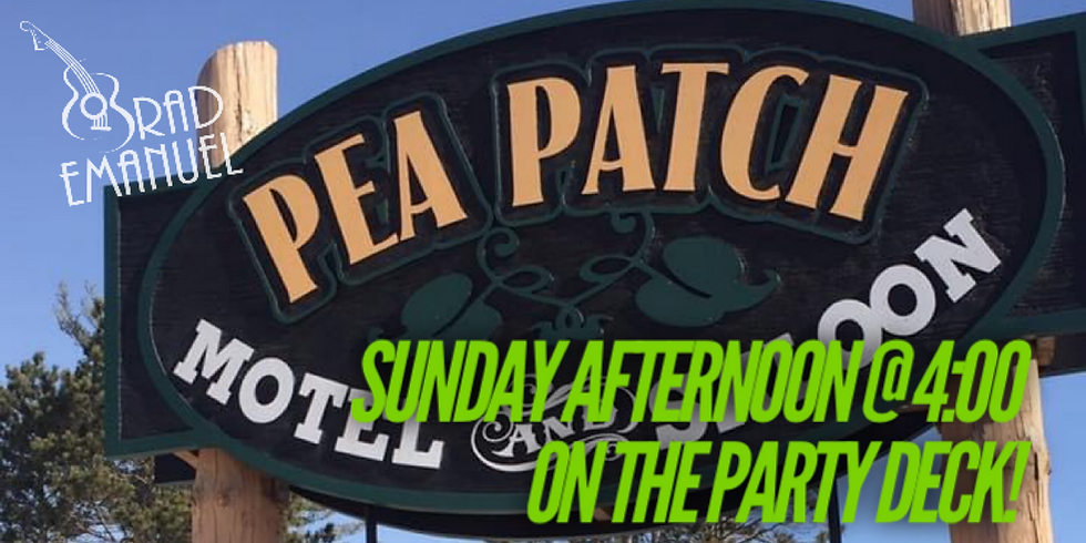 The Pea Patch Saloon... On the Party Deck!