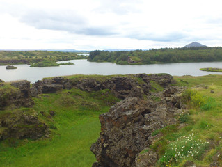 Visit Lake Mývatn, the lake of midges