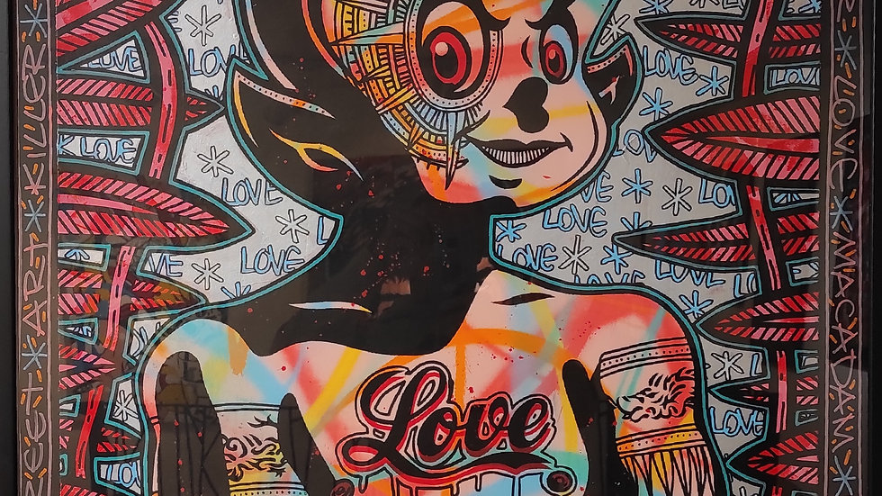 "Speedy Graphito ""Guardian of love"""
