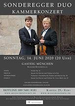 SONDEREGGER DUO Gasteig München