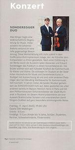 SONDEREGGER DUO Galerie Stihl Waiblingen