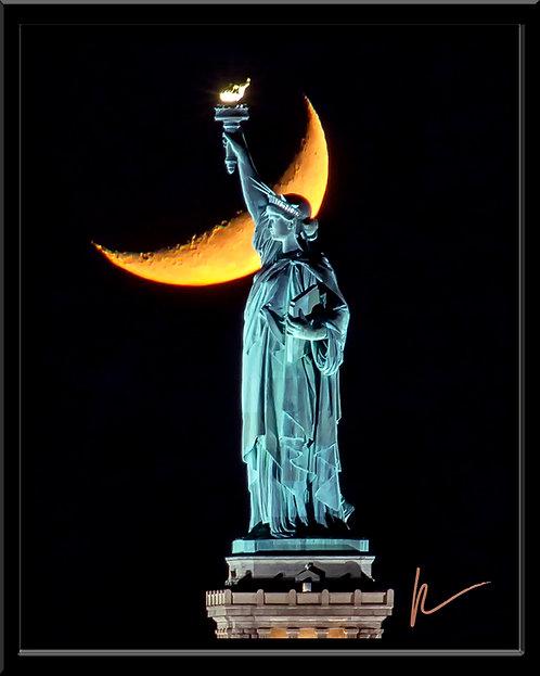 Liberty & the Crescent Moon