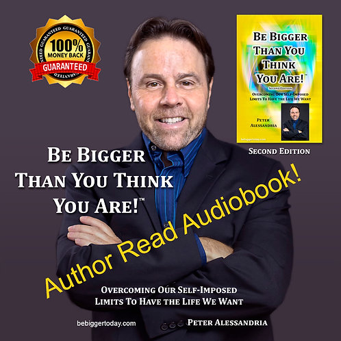 Be Bigger Than You Think You Are - Audiobook -STREAMING DIGITAL
