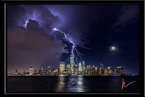 WTC Lightning Strike