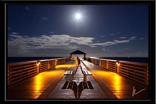 Juno Pier Moonrise